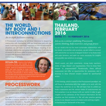 The World, My Body & I, Interconnections – Thailand