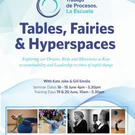 Tables, Fairies & Hyperspaces – June 2017