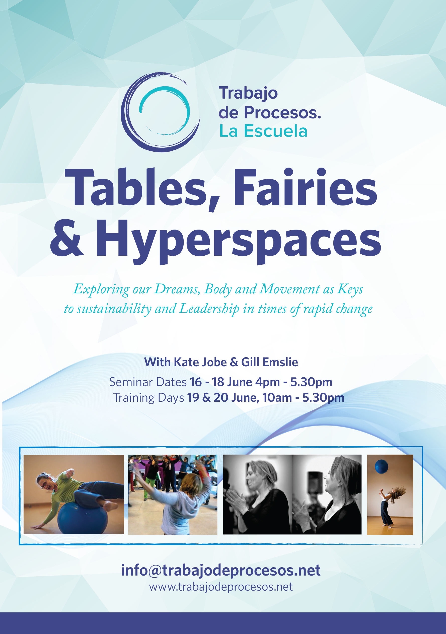 Tables, Fairies & Hyperspaces – June 2017